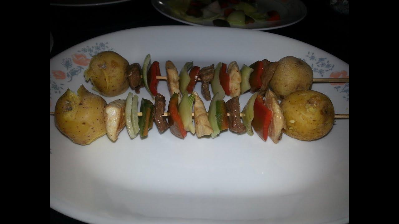 recetas de pinchos venezolanos
