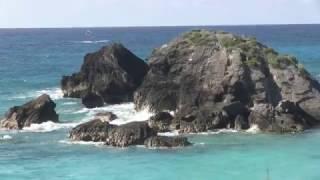 Jour 2 partie 1: Horseshoe bay, la plage la plus touristique (Bermudes 2014)