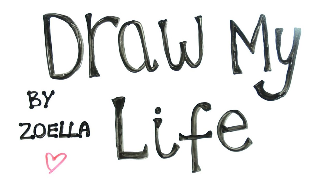 Draw My Life | Zoella - YouTube