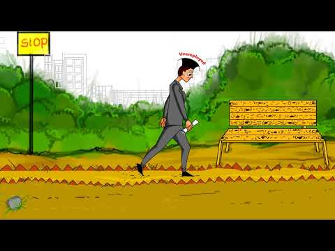 #Jobless Walking man#