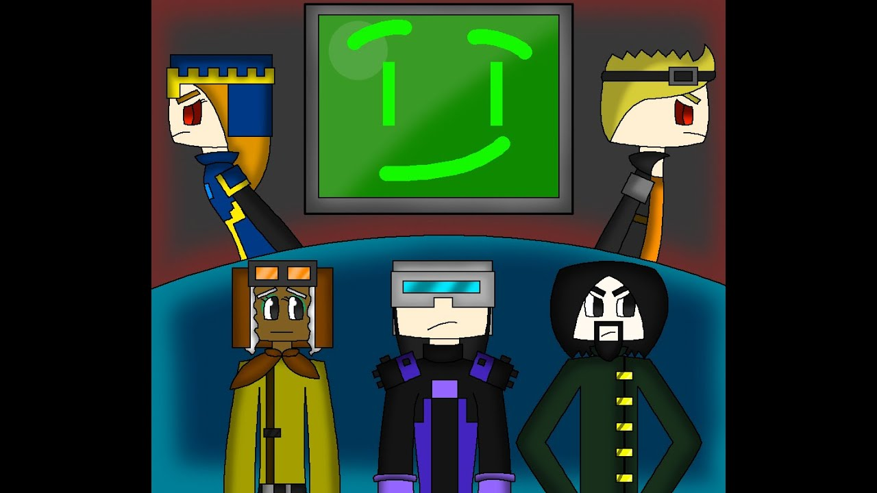 Speed Art Access Denied Minecraft Story Mode Speed Art Youtube