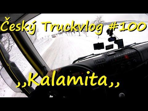 Český Truckvlog #100 - ,,Kalamita,, 1/2