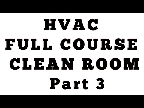Clean Room part 3 ll HVAC Course