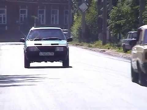 Кузнецк, июнь 2007, Новый асфальт по ул.Рабочей