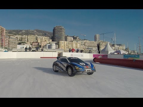 Course sur Glace Auto RC - GoPro on Board - Patinoire de Monaco - Voitures RC Buggy Brushless