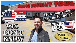 USA Products at Haŗbor Freight THAT 99% OF PEOPLE DON'T KNOW EXISTS!