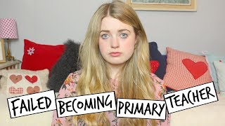 I Failed At Becoming A Primary School Teacher (Skills Tests) | Emily Steele