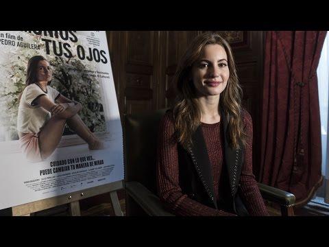 Ivana Baquero y su película 'Demonios tus ojos'