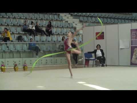 Ioana David CSU Brasov Junior Ribbon AA Romanian Rhythmic Gymnastics National Championship Juniors &