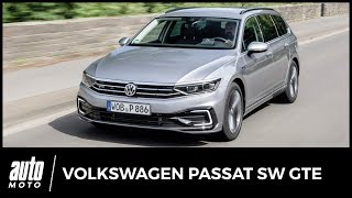 Essai Volkswagen Passat SW GTE restylée : un fil à la Passat