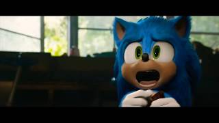 Sonic movie trailer but only the parts where there's no music
