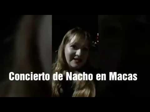 Concierto de Nacho en Macas-Plaza Tiwintza Fiestas de Morona Santiago