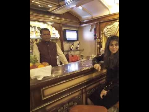 [KSTDC] : Sneak peek into a luxurious train - The Golden Chariot