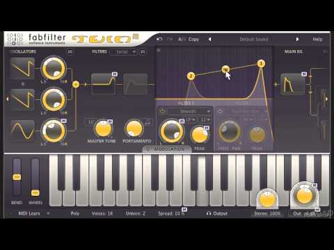 FabFilter 101: Learn FabFilter Twin 2 - 9. Filter Section Basics