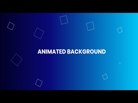 Animated Background with Pure CSS and Html | No Javascript no Jquery