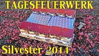 400€ TAGESFEUERWERK SILVESTER 24 Batterien / 3 Vulkane / 5 Rauchtöpfe