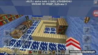 Видео-урок/как построить в майнкрафте дом на воде