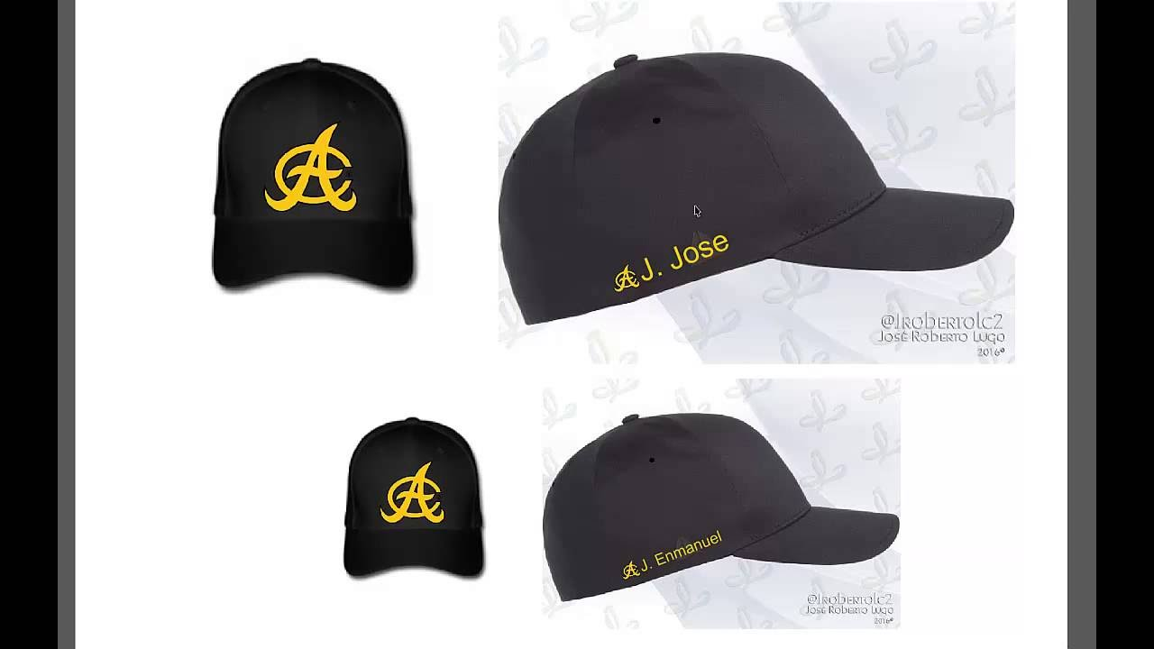 06734099849da Como Hacer Gorras Personalizadas Aguilas Cibaeñas - YouTube