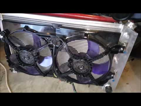 Veltboy Garage - Cooling Fans & Radiator Update