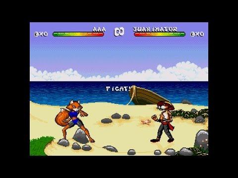 Brutal: Paws of Fury ... Sega Genesis