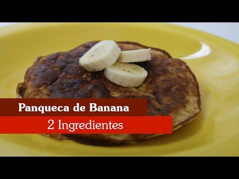 PANQUECA DE BANANA COM 2 INGREDIENTES! SUPER FÁCIL!
