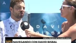 """David Bisbal presenta """"Hijos del Mar"""" - Telefe Noticias"""