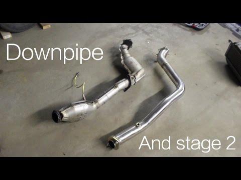 2005 WRX Downpipe Install