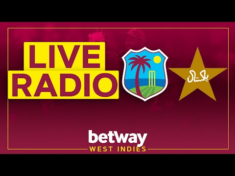 ?LIVE RADIO | West Indies v Pakistan | 2nd Test Day 3 | Betway Test Series