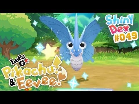 NO COMBO INSANE SHINY VENOMOTH! EPIC SHINY POKEMON LET'S GO PIKACHU and EEVEE! thumbnail