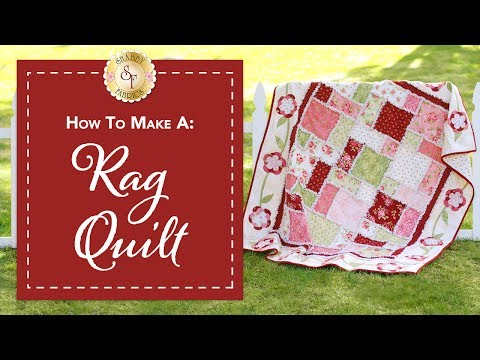 How to Make a Rag Quilt | a Shabby Fabrics Quilting Tutorial