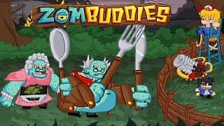 Мультик игра для детей Приятели против зомби 3 серия
