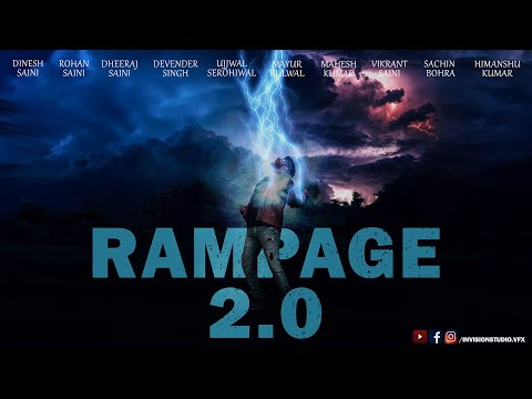 RAMPAGE 2.0 | VFX | SHORT FILM | SUPERHERO | AVENGERS | INDIA | ACTION | VISUAL EFFECTS