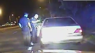 Dash cam shows cop charged with murder using Taser