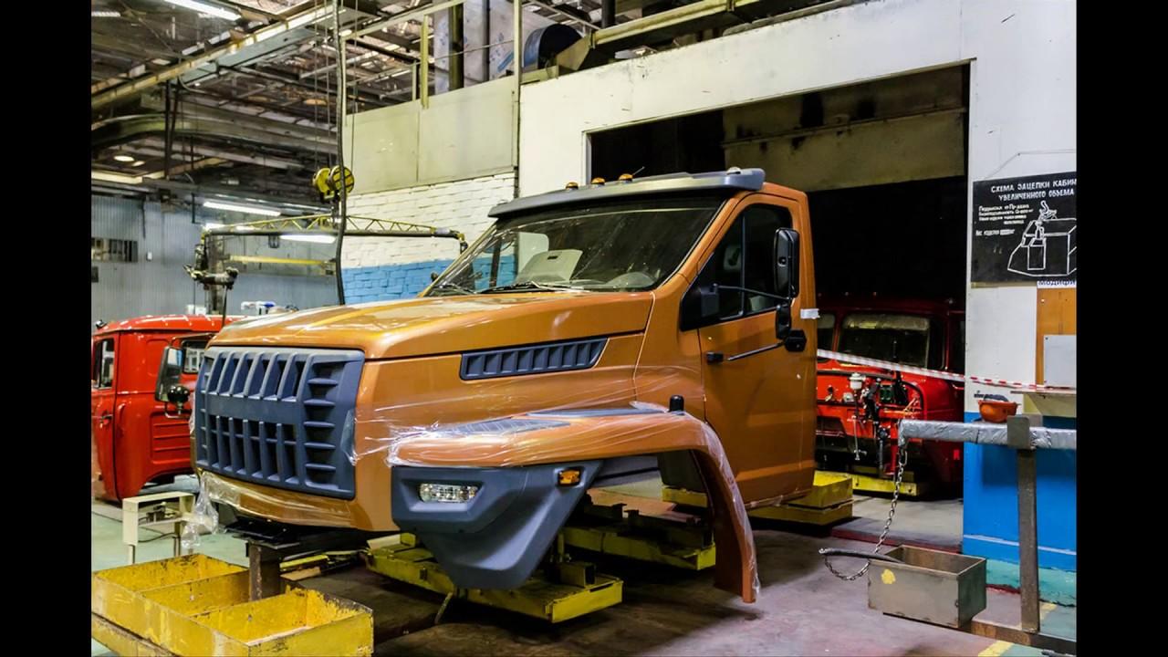 Конвейер автомобилей урал вес т5 транспортер фургон