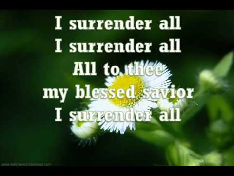 All To Jesus I surrender (Vineyard)
