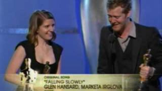 """Falling Slowly"" winning Best Original Song Oscar®"