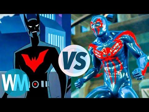 Batman Beyond vs. Spider-Man 2099