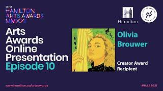 2021 City of Hamilton Arts Awards Online Presentation - EPISODE 10