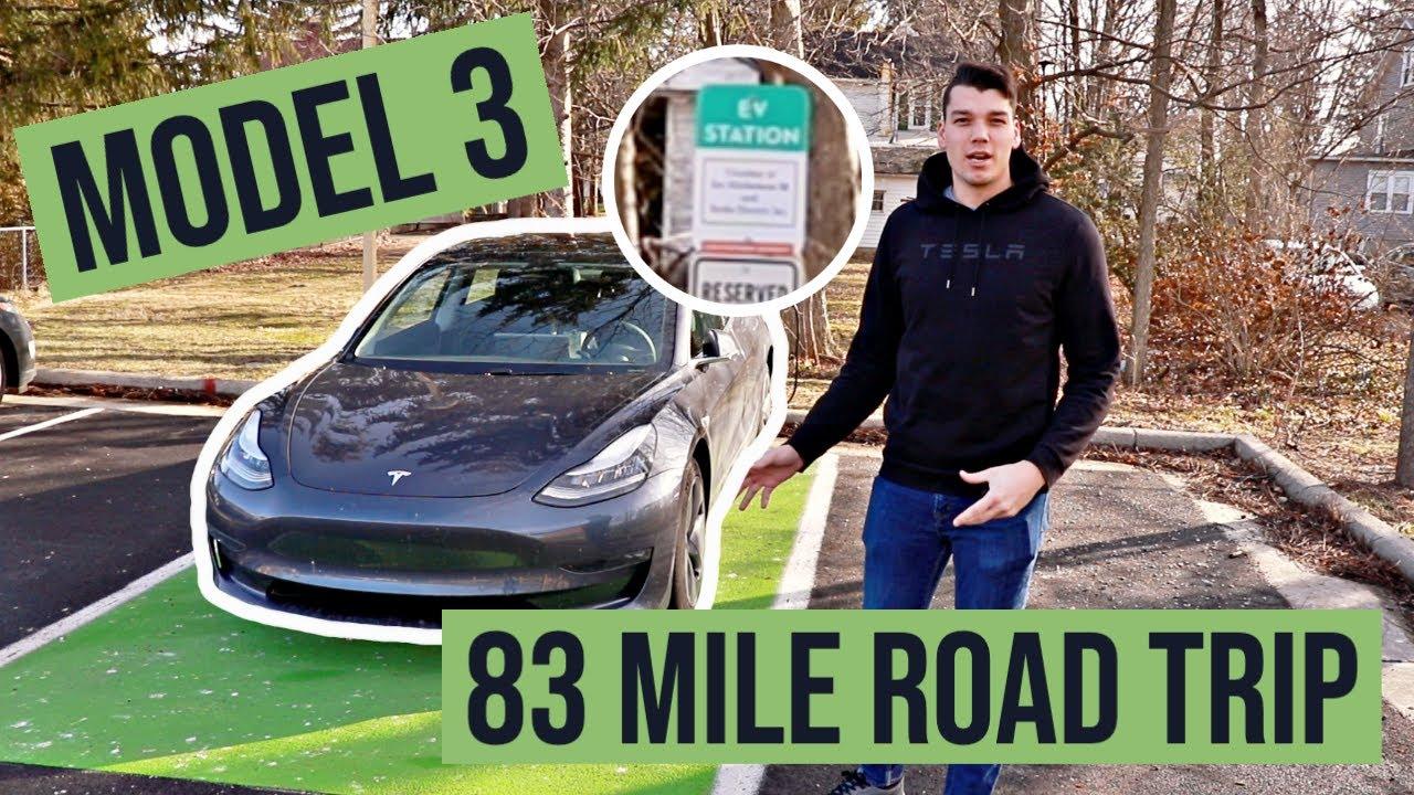 Short Road Trip in a Tesla Model 3! - YouTube