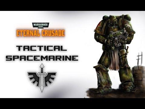 Eternal Crusade tactical spacemarine
