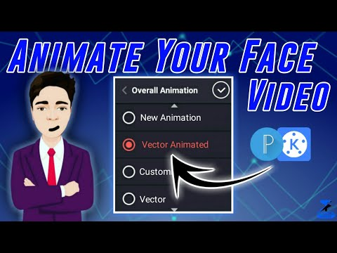 Animate Your Face Video With Kinemaster & Pixellab On Mobile In 5 Minutes | Best Trick - 2021 |