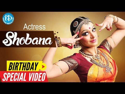 Actress Shobana Birthday Special Video ||  Special Wishes From iDream Media || Something Special #28