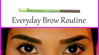 Everyday Brow Routine ♥ Drugstore Maybelline Define-A-Brow | byBelle4u