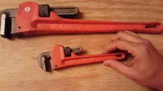 Pipe wrench haul from harbor freight