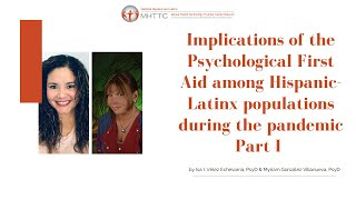 Implications of the pfa among hispanic/latinx populations during pandemic part i