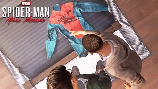 Miles Morales Designs His New Spider Suit Scene (SPIDER-MAN: MILES MORALES) 1080P HD