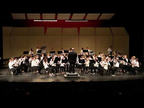 Pacific Crest Middle School Advanced Band - Moscow 1941