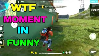 WTF MOMENT || FREE FIRE FUNNY MOMENT 😋😋😋😋