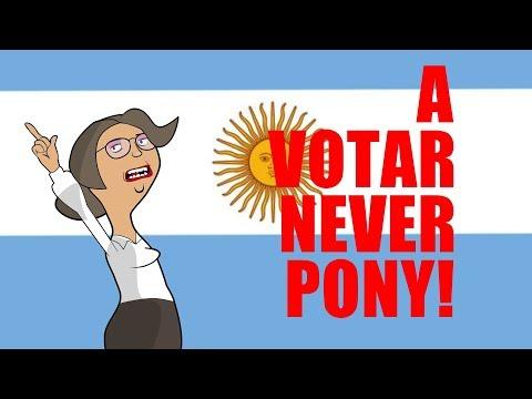 A votar never pony!