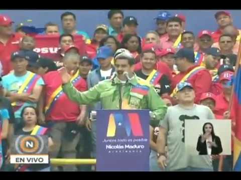 """""""Hay muchas cosas que están mal"""": Maduro iniciará lucha contra burocratismo y corrupción tras 20-M"""